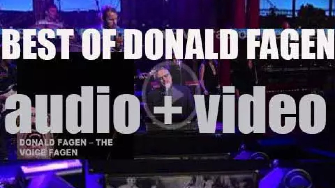 Happy Birthday Donald Fagen. 'The Voice Fagen'