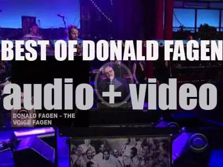 Happy Birthday Donald Fagen. 'The Voice Fagen'