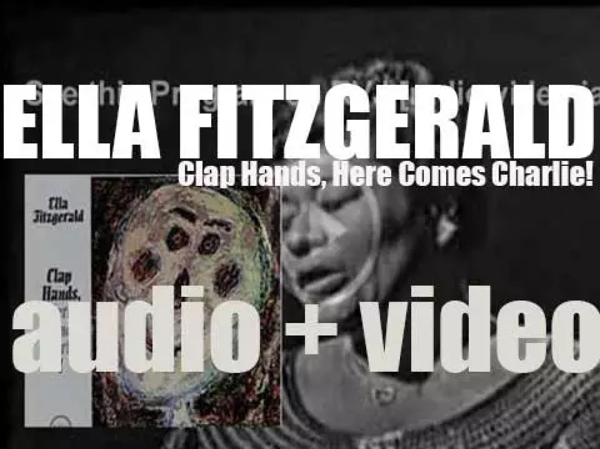 Ella Fitzgerald records the album 'Clap Hands, Here Comes Charlie!' with a quartet led by Lou Levy (1961)