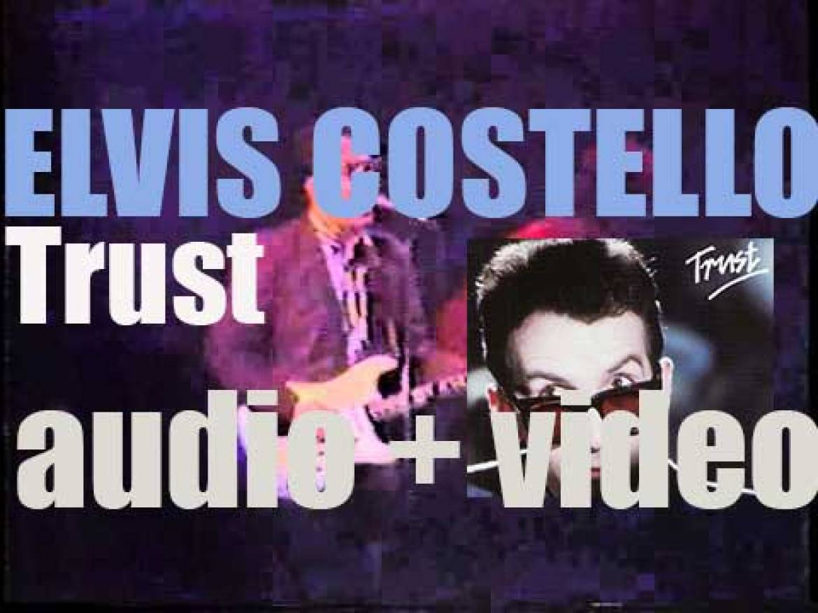 Elvis Costello releases 'Trust,' his fifth album recorded with the Attractions (1981)