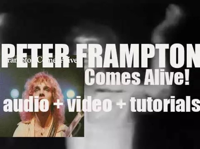 A&M publish Peter Frampton's double live album : 'Frampton Comes Alive!' (1975)