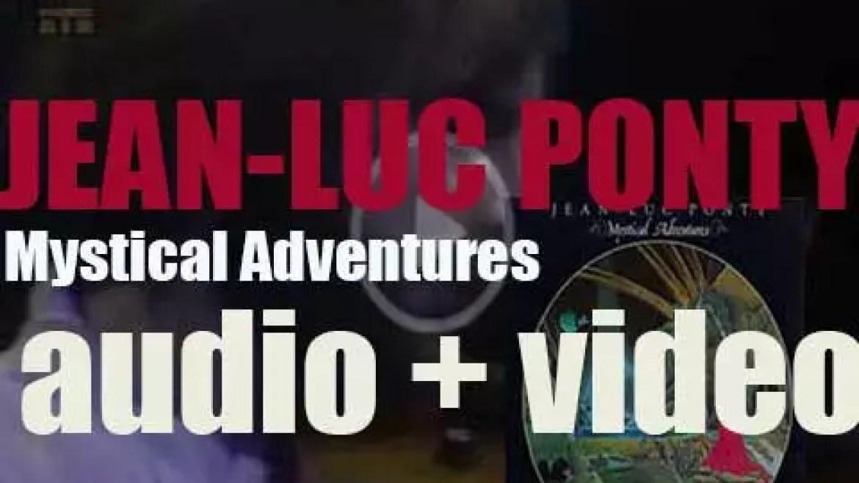 Atlantic publish Jean-Luc Ponty's album : 'Mystical Adventures' (1982)