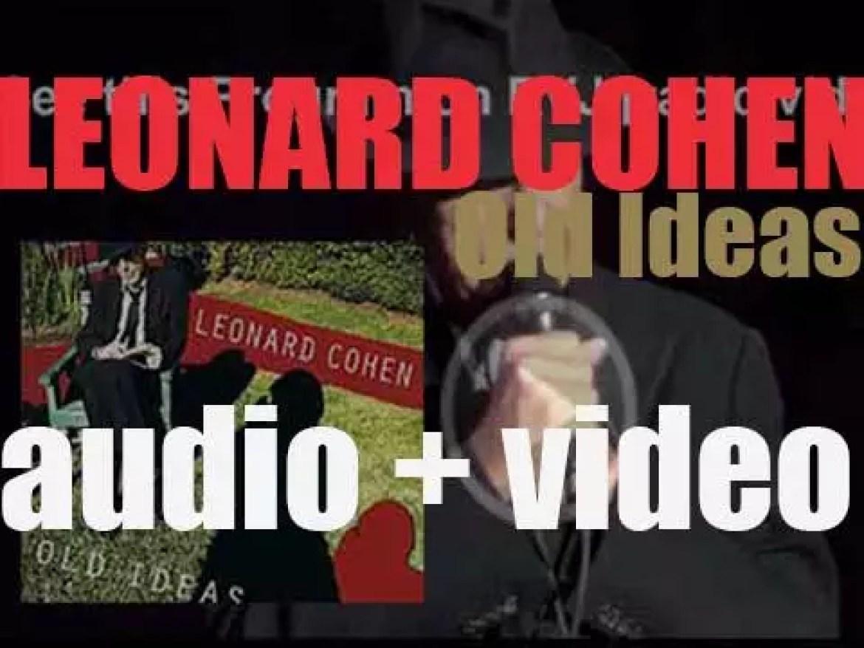 Columbia publish Leonard Cohen's twelfth studio album : 'Old Ideas' (2012)