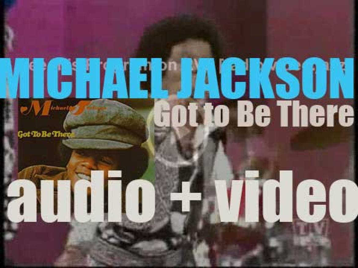 Motown publish Michael Jackson's solo debut album : 'Got to Be There' featuring 'Rockin' Robin' and 'Got to Be There' (1972)