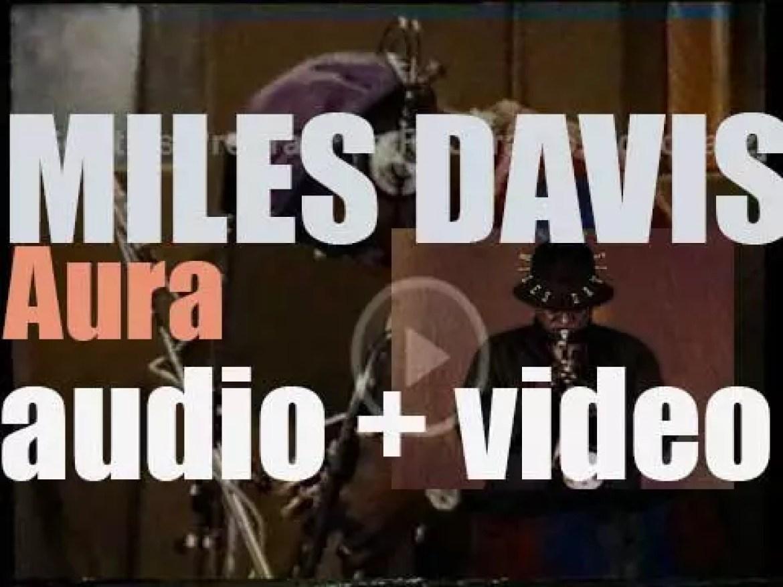 Miles Davis begins the recording of  'Aura,' a concept album produced by Palle Mikkelborg (1985)