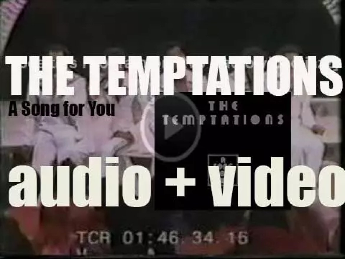 Gordy publish The Temptations' album : 'A Song for You' featuring 'Happy People' and 'Shakey Ground' (1975)