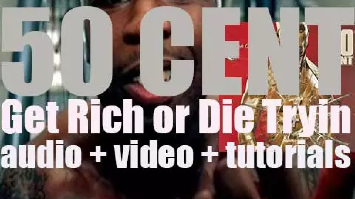 """50 Cent releases his debut album 'Get Rich or Die Tryin"""" featuring 'In da Club,' 'P.I.M.P.' and '21 Questions' (2003)"""