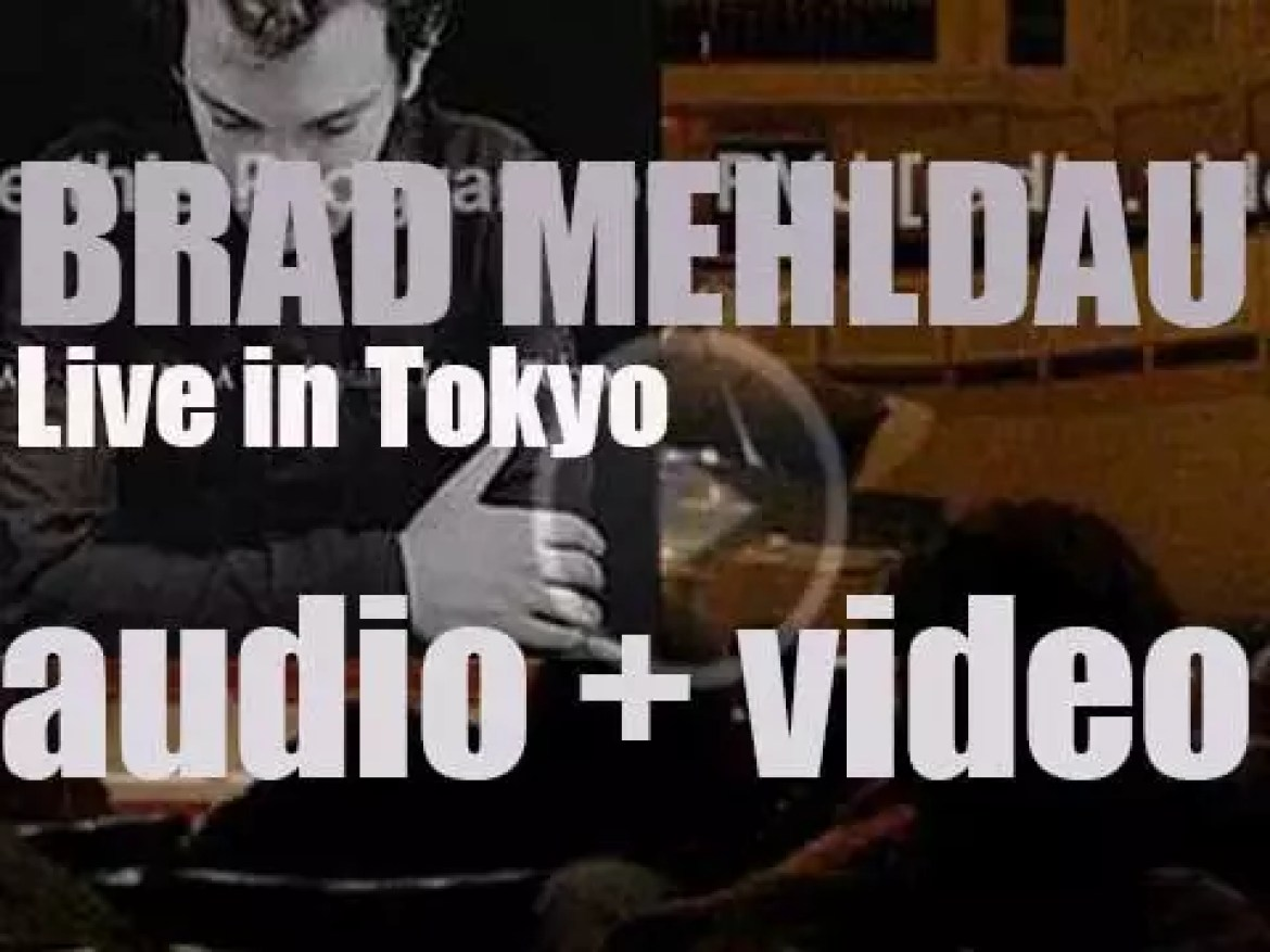 Brad Mehldau records 'Live in Tokyo,' an album for Nonesuch (2003)