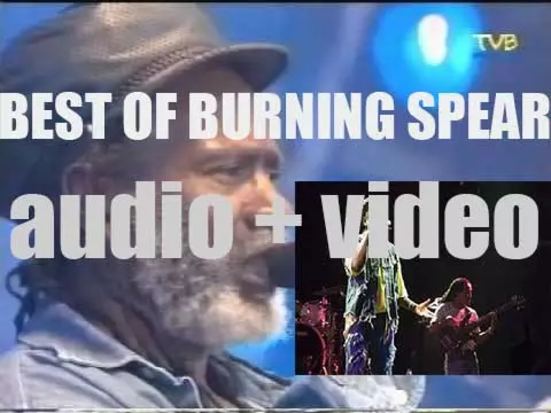 Happy Birthday Winston Rodney a.k.a. Burning Spear. 'Burning Year'