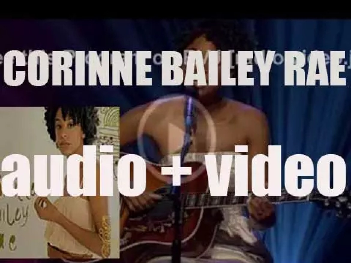 EMI releases 'Corinne Bailey Rae,' her eponymous first album (2006)