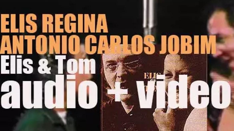 Elis Regina & Antonio Carlos Jobim start the recording of 'Elis & Tom' (1974)
