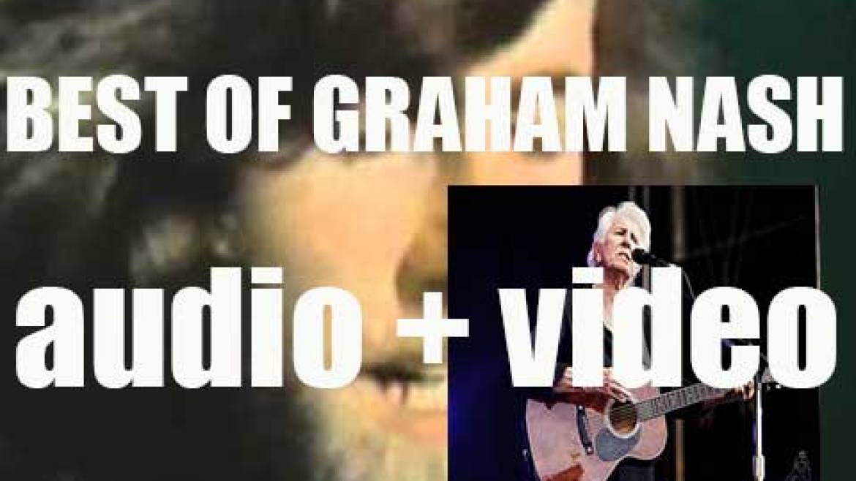 Happy Birthday Graham Nash. 'Nash Flow'