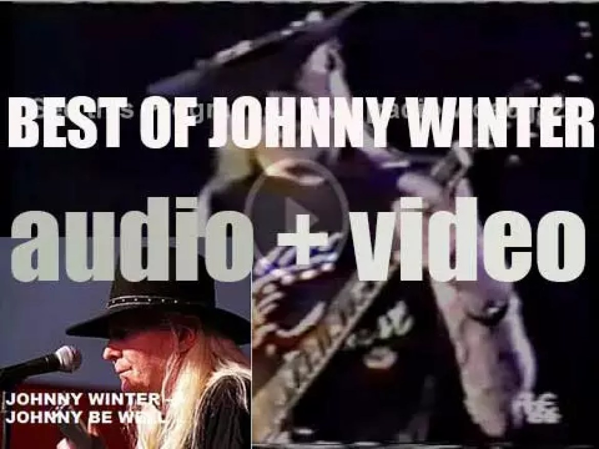 We remember Johnny Winter. 'Johnny Was Good'