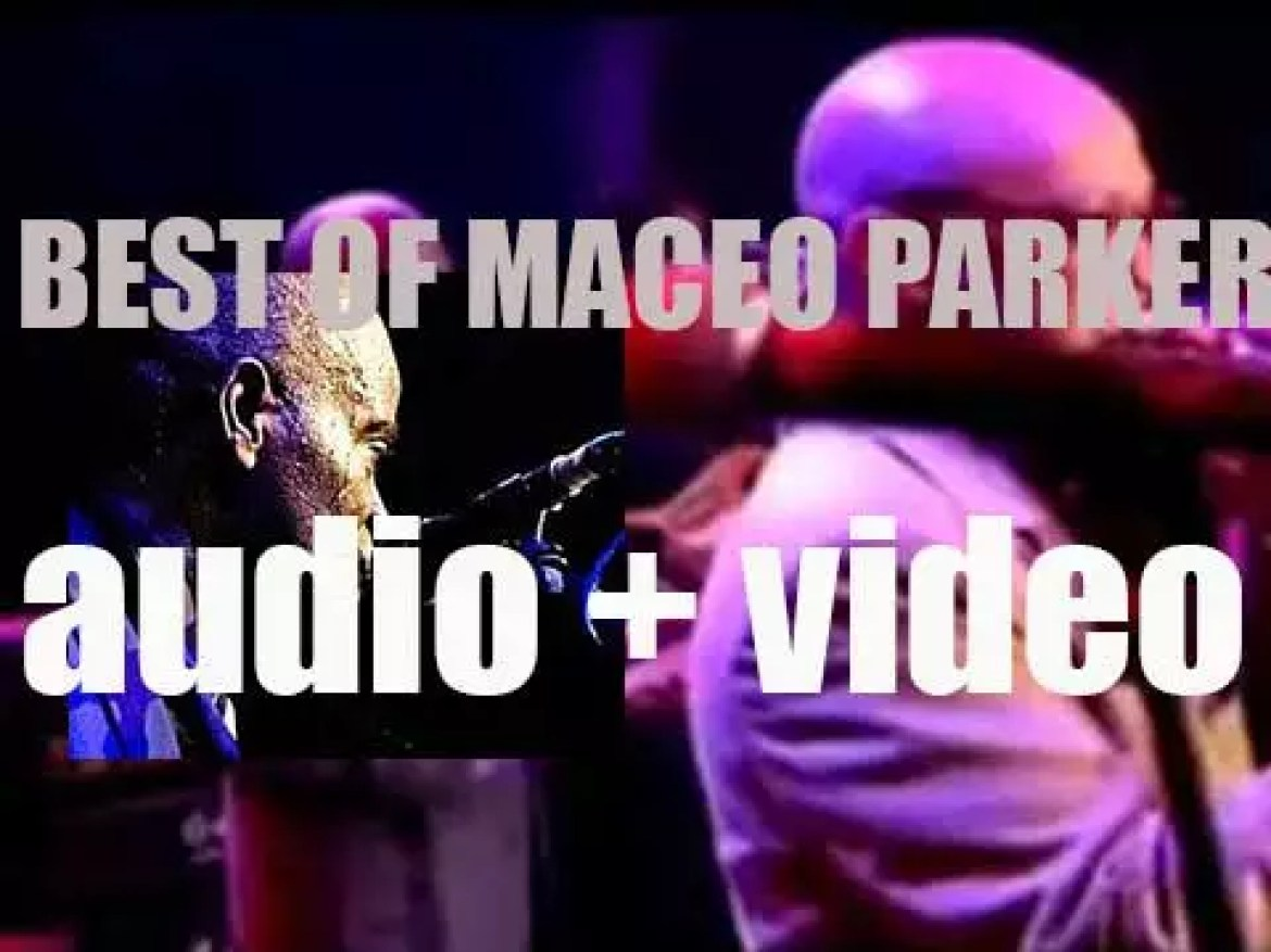 Happy Birthday Maceo Parker. 'Pass The Year, Maceo'
