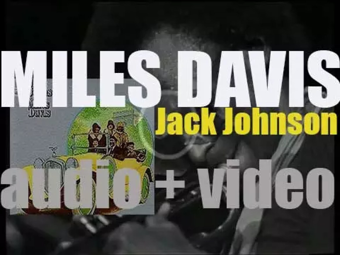 Miles Davis records 'Jack Johnson' also known as 'A Tribute to Jack Johnson' for Columbia (1970)