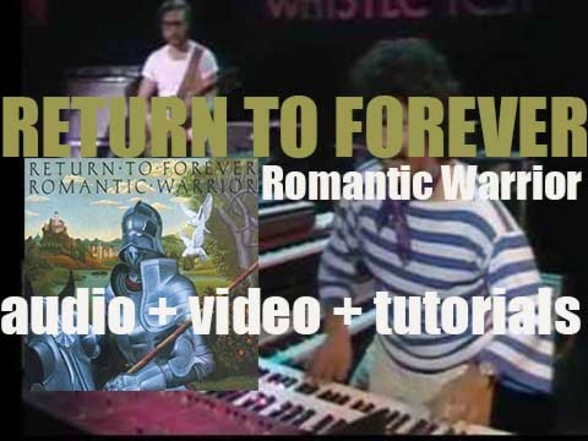 Return to Forever record their sixth album : 'Romantic Warrior' for Columbia (1976)