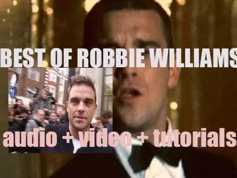 Happy Birthday Robbie Williams. 'Sing That'