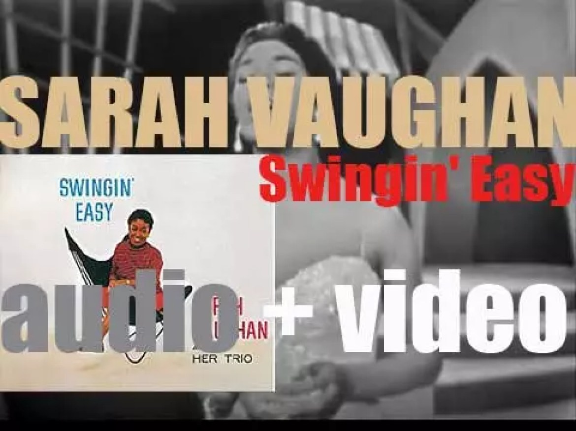 Sarah Vaughan records 'Swingin' Easy,' an album for Emarcy (1957)