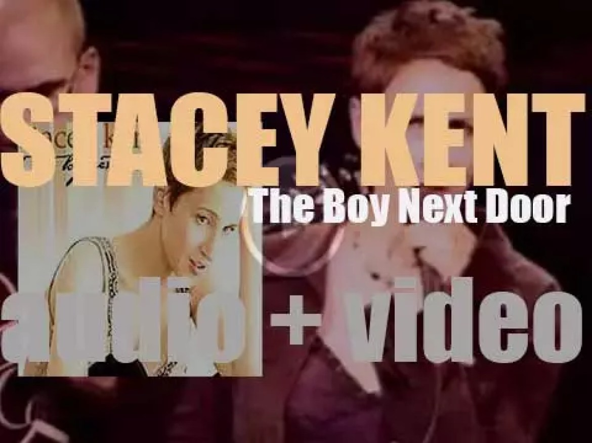 Stacey Kent records 'The Boy Next Door' an album for Candid Records (2003)
