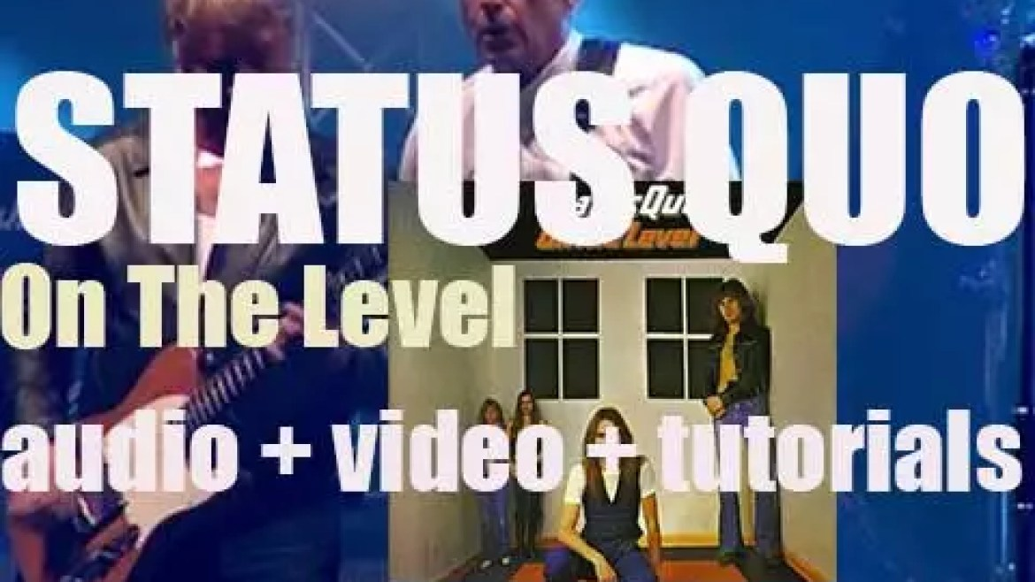 Vertigo publish Status Quo's eighth album, 'On the Level' featuring 'Down Down' (1975)