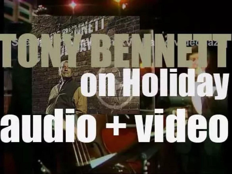 Columbia publish Tony Bennett's tribute album to Billie Holiday : 'Tony Bennett on Holiday' (1997)