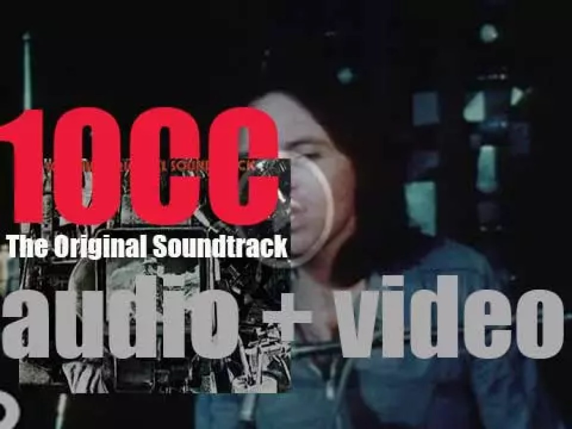 10cc release their third album : 'The Original Soundtrack' featuring 'I'm Not in Love' (1975)