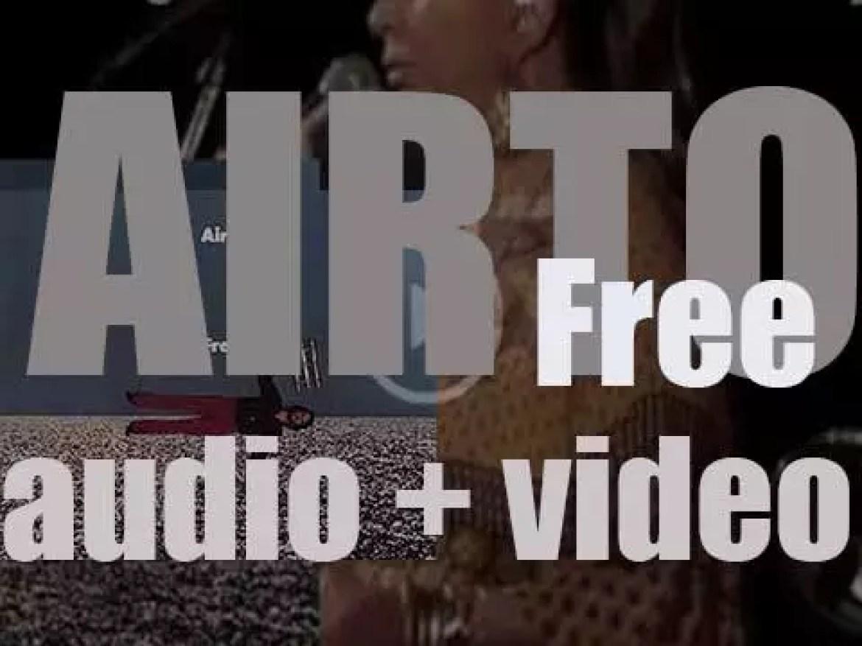 Airto Moreira records 'Free' for CTI with George Benson, Keith Jarrett et al (1972)