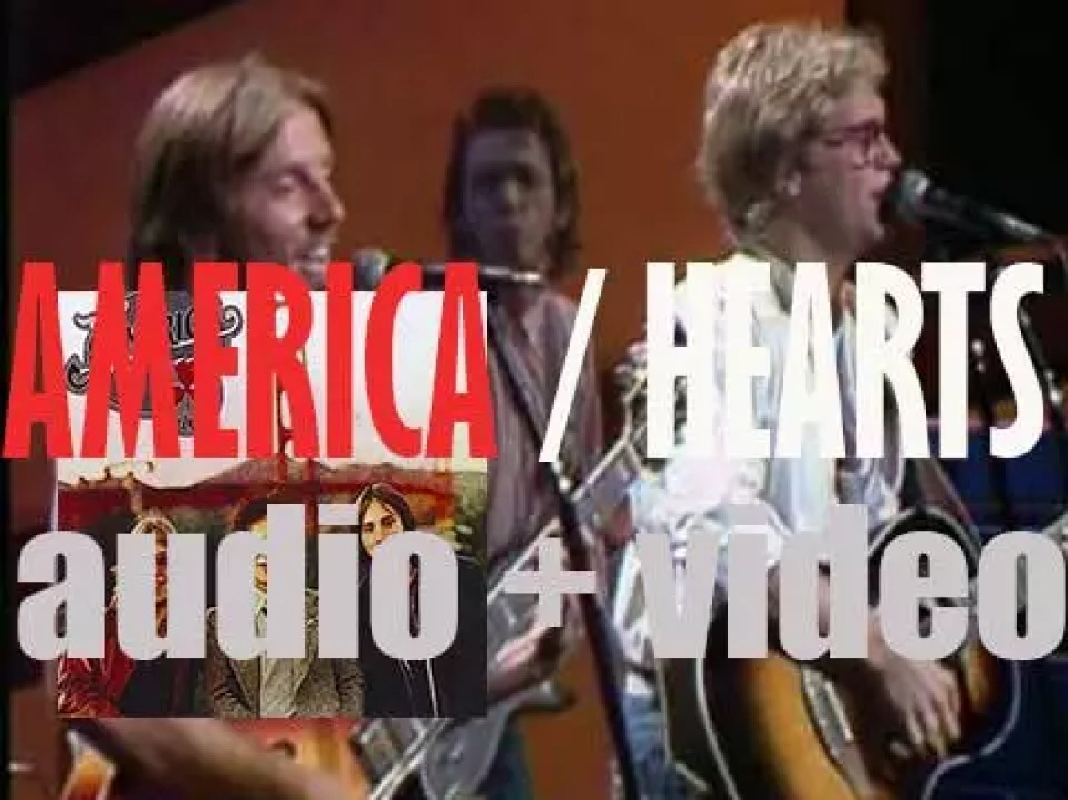 America release 'Hearts' produced by George Martin and featuring 'Sister Golden Hair' (1975)