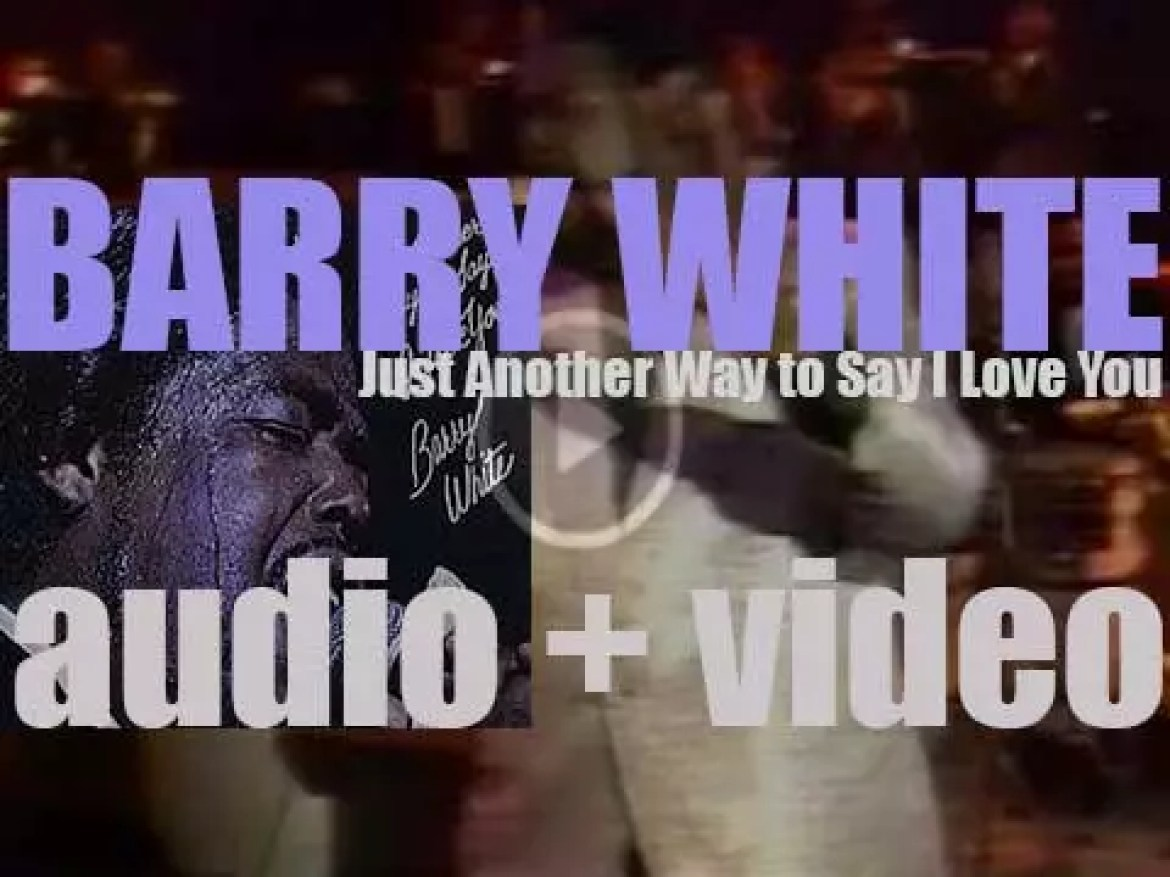 Barry White releases his fourth album 'Just Another Way to Say I Love You' recorded with an orchestra (1975)