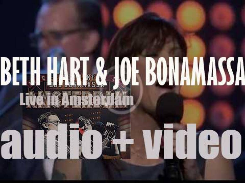 J&R Adventures publish 'Live In Amsterdam,' the first collaboration album by Beth Hart & Joe Bonamassa (2014)
