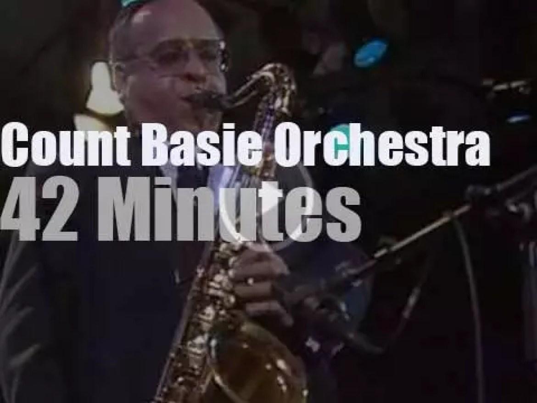 Count Basie Orchestra at Jazzwoche Burghausen (1994)
