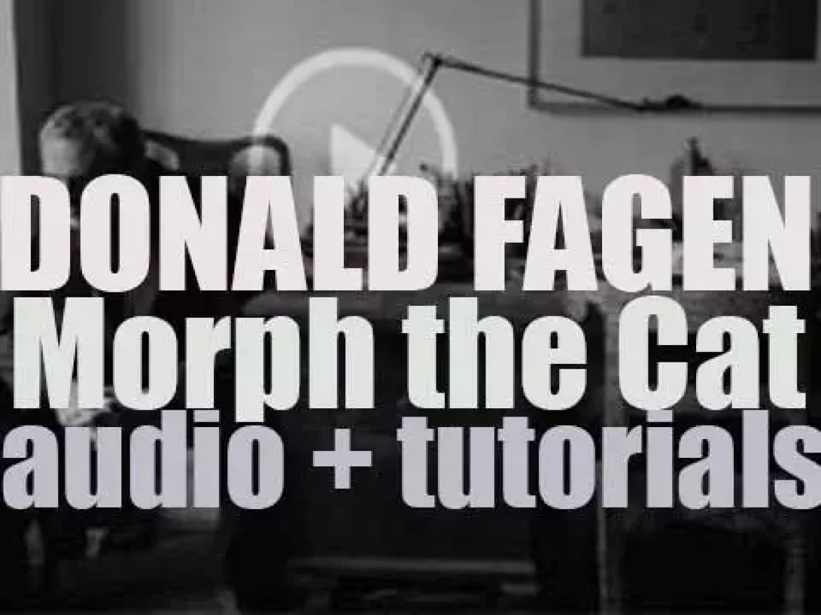 Donald Fagen releases 'Morph the Cat,' his first album after 13 years (2006)