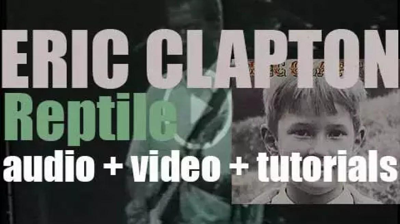 Eric Clapton releases 'Reptile,' his fifteenth studio album featuring Billy Preston (2001)