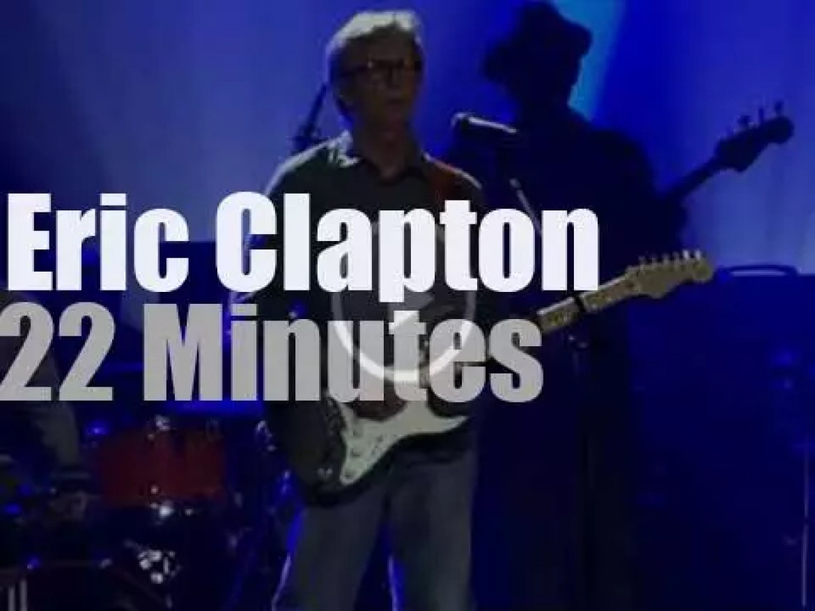 Eric Clapton plays in Hollywood, Florida (2013)