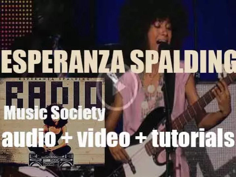 Heads Up publish Esperanza Spalding's fourth album : 'Radio Music Society' (2012)