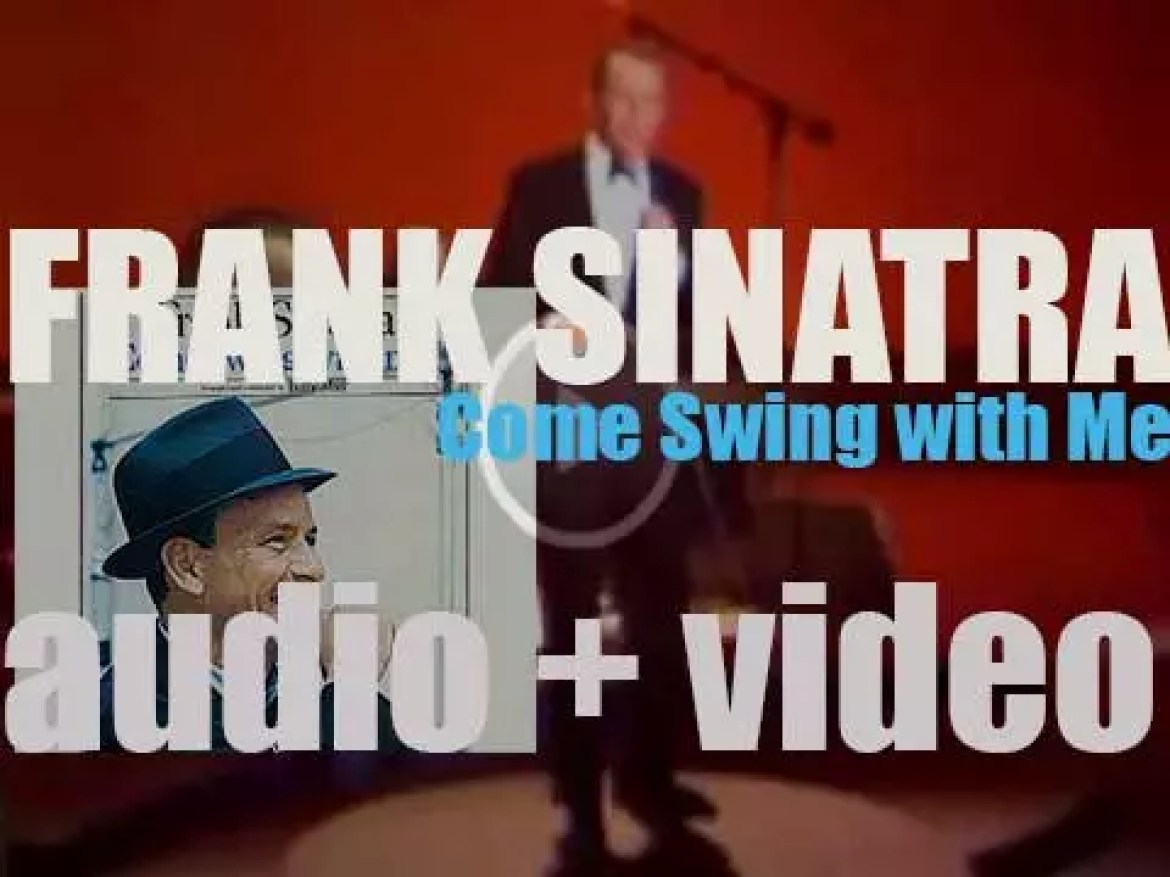 Frank Sinatra starts the recording of 'Come Swing with Me!' with arranger Billy May (1961)
