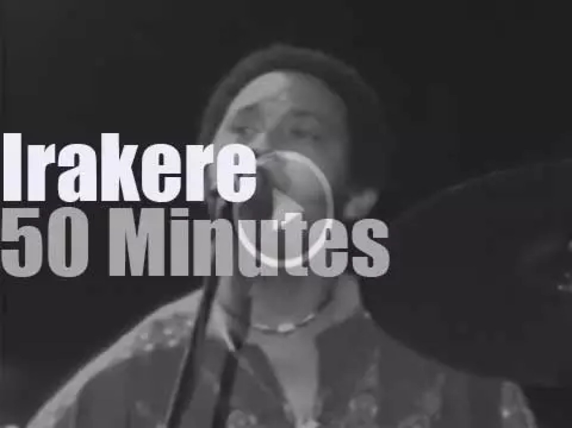Irakere performs in New-Jersey (1979)