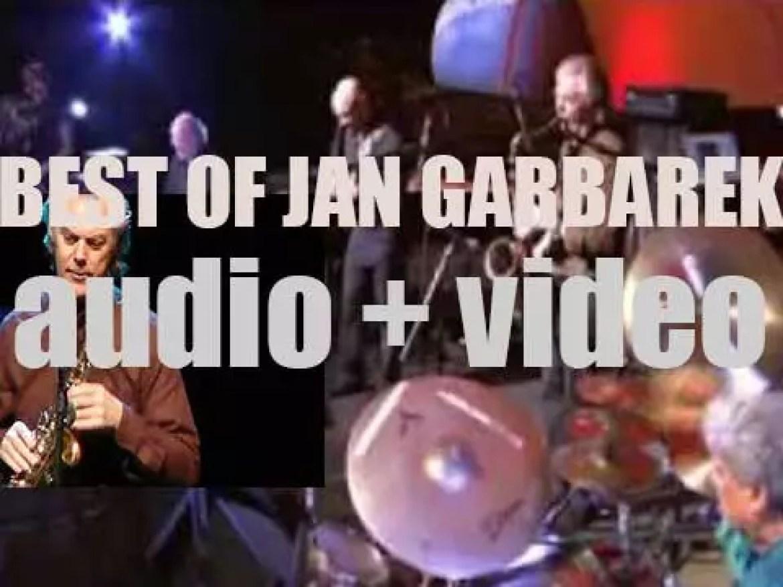 Happy Birthday Jan Garbarek. 'Gratulerer med dagen! Mr. Garbarek'