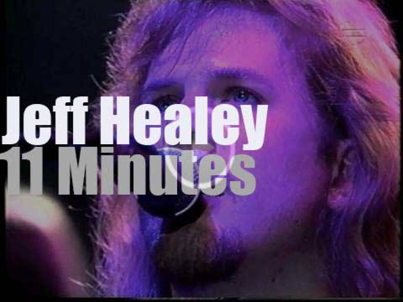 Jeff Healey is at the Stuttgart Jazz Festival (1995)