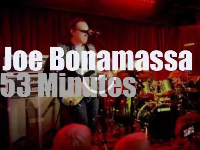 Joe Bonamassa tours London (2013)