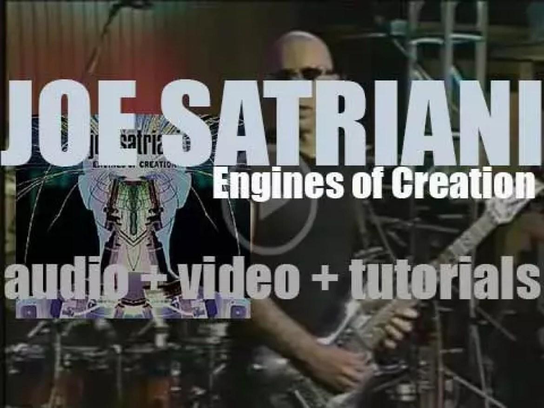 Joe Satriani releases 'Engines of Creation,'  his eighth studio album (2000)