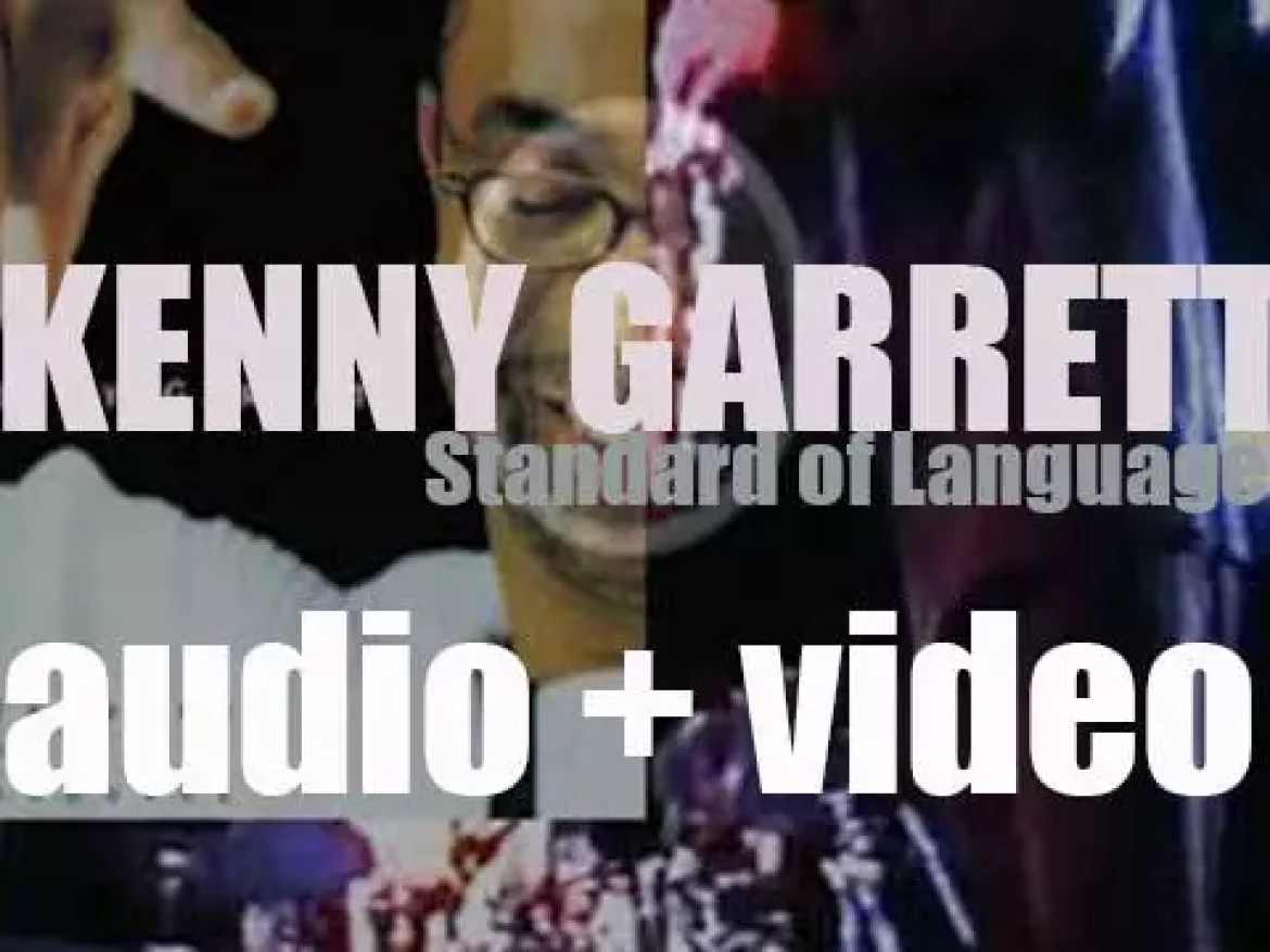 Kenny Garrett releases 'Standard of Language' co-produced with Marcus Miller (2003)