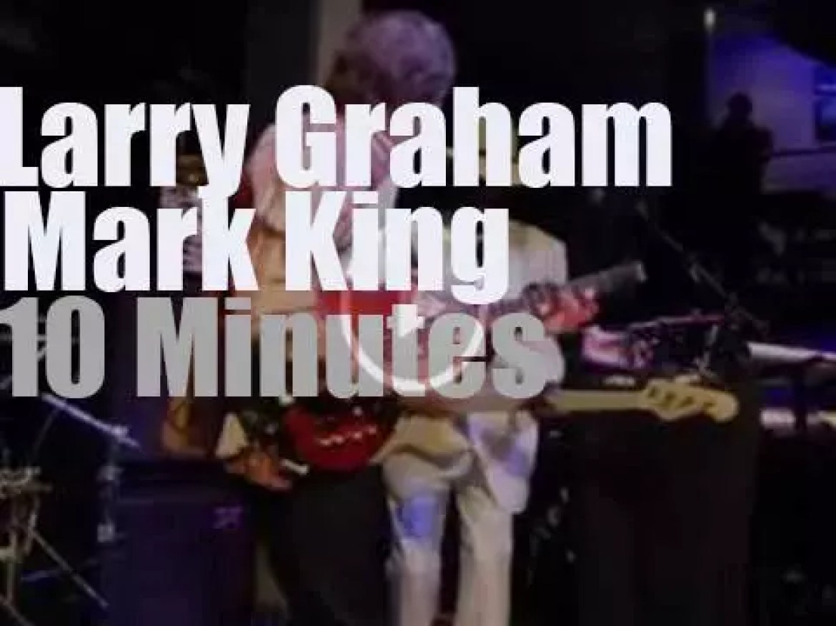Larry Graham teams up with Mark King (2013)