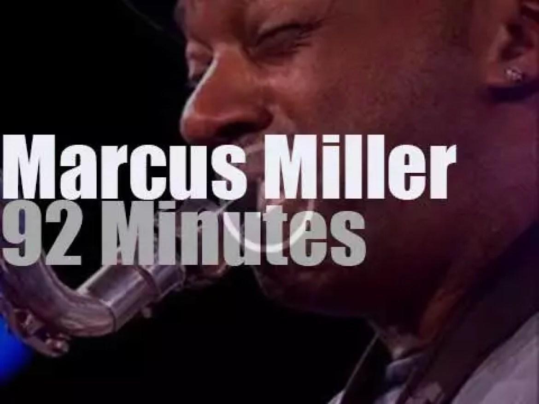 Marcus Miller at Jazzwoche Burghausen (2012)