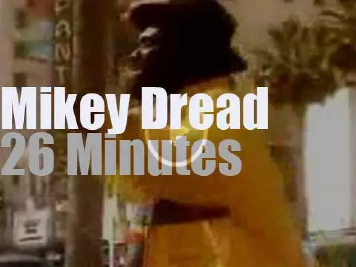 We remember Jamaican singer Mikey Dread