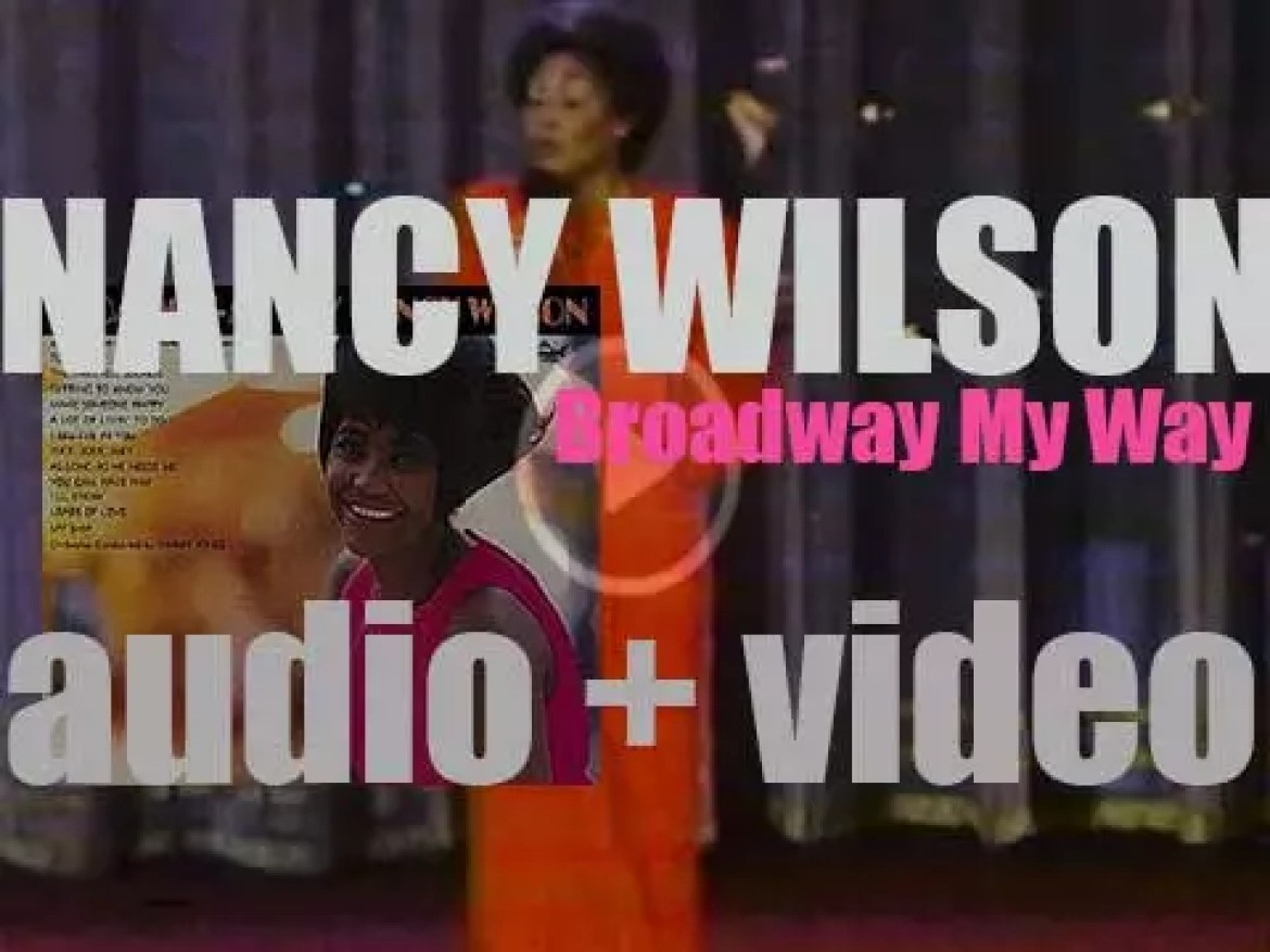 Nancy Wilson records 'Broadway – My Way' for Capitol (1962)