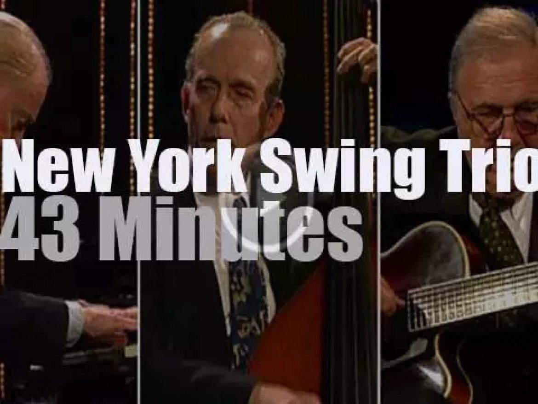 New York Swing Trio at Jazzwoche Burghausen (1999)
