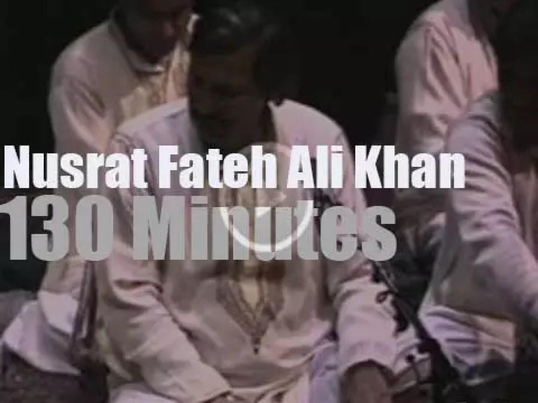 Nusrat Fateh Ali Khan in Paris (1988)