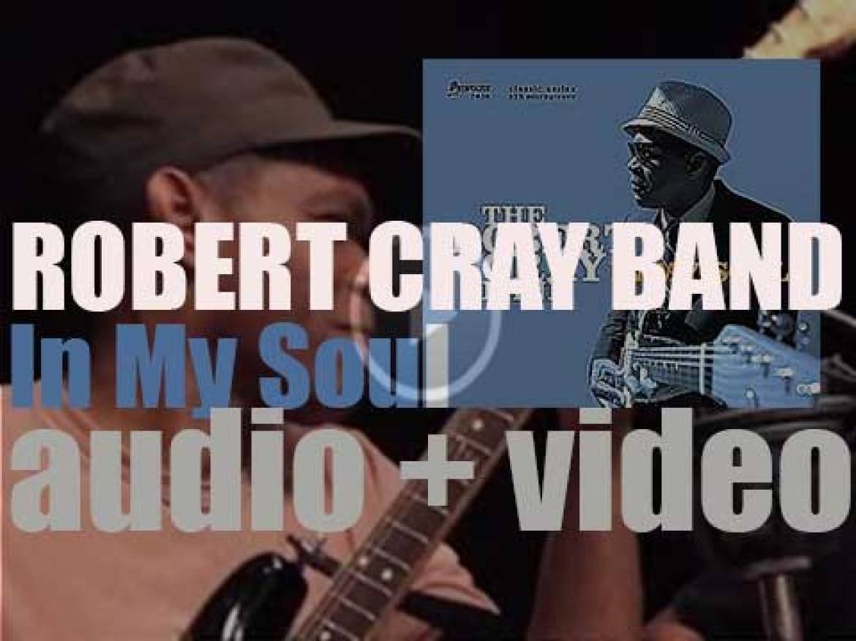Robert Cray releases  'In My Soul,'  his twenty first album produced by Steve Jordan (2014)
