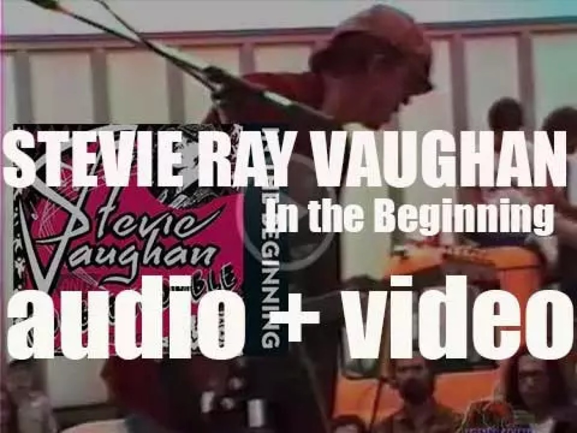 Stevie Ray Vaughan records in Austin his first album 'In the Beginning' (1980)